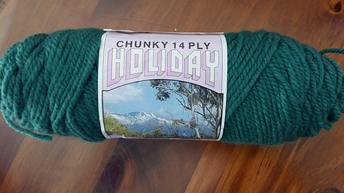 Ravelry Australian Country Spinners Holiday Chunky 14 Ply