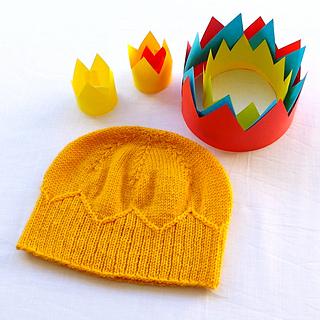 Ravelry: Paper Crown pattern by Amy van de Laar