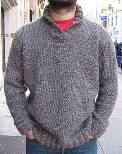 Ravelry: Shawl Collar Sweater pattern by Martin Storey