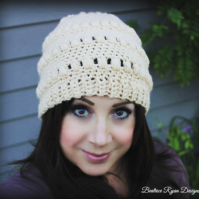 Ravelry Ladies Whimsical Warmth Beanie Pattern By Elena Hunt