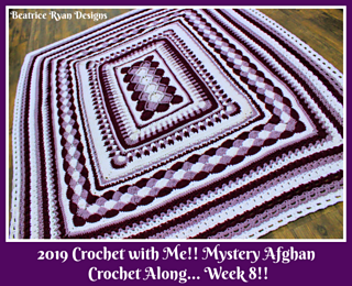 Ravelry: 2019 Crochet with Me!! Mystery Afghan CAL pattern