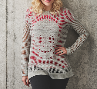 75a15d7b9a81 Ravelry  Skull Jumper pattern by Pony McTate