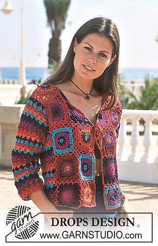 b1f2ce319d3b Ravelry  68-21 Crocheted Cardigan pattern by DROPS design