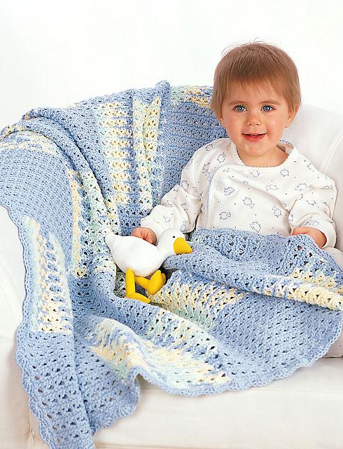 bernat baby blanket patterns to knit