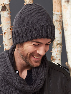Ravelry  Men s Basic Hat pattern by Caron Design Team 0920286fb5b