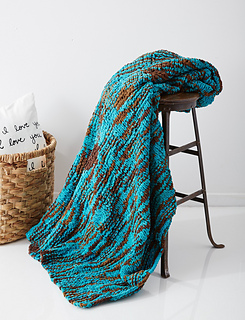 Ravelry Big Basketweave Blanket Pattern By Bernat Design