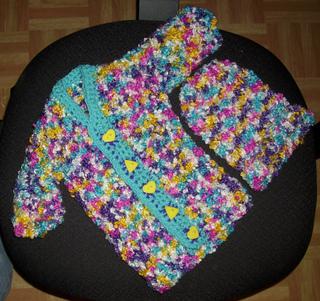 39c7c141421 Ravelry: One-Piece Baby Sweater on a Round Loom pattern by CraftyMama