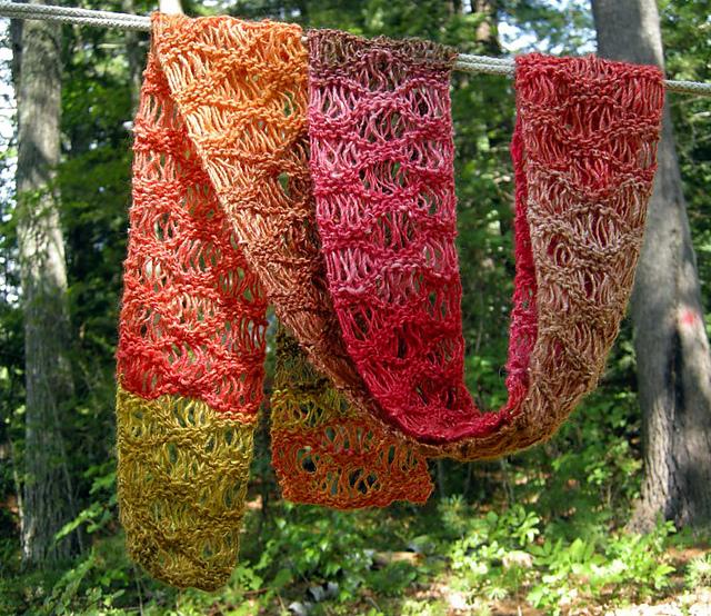 Ravelry: Waterfall Scarf pattern by Cosette Cornelius-Bates