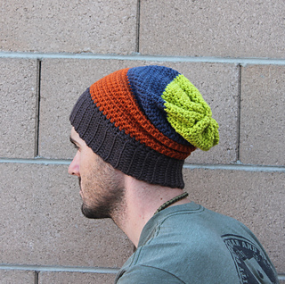 95c53730f6d Ravelry  Mens Slouchy Beanie pattern by Beth Kelly