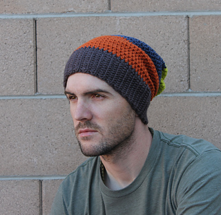 Ravelry  Mens Slouchy Beanie pattern by Beth Kelly 28624ed0bc0
