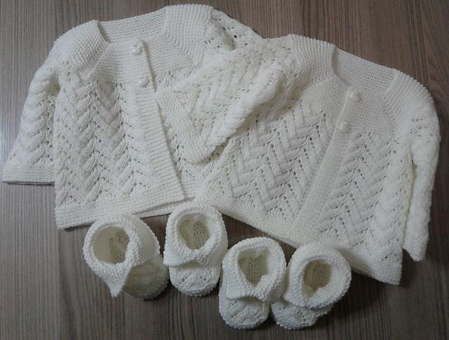Ravelry: Baby Lace Cardigan pattern by Beyhan Çayır