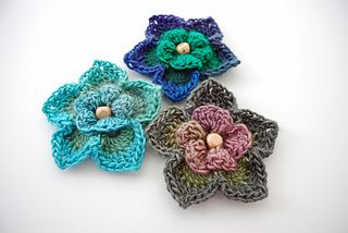 Ravelry  Lovely Layers Flower pattern by B.hooked Crochet 3214b425547