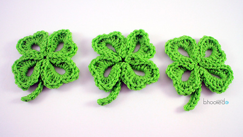 Ravelry Four Leaf Clover Pattern By Bhooked Crochet