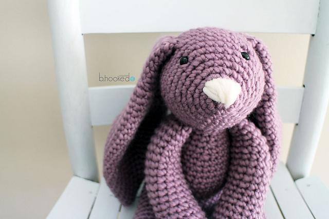 Ravelry Layla Bunny Pattern By Bhooked Crochet Classy Crochet Bunny Pattern
