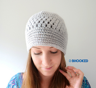 a9d3def0e43 Ravelry  Fall Glam Lace Hat pattern by B.hooked Crochet
