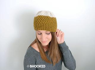 Ravelry  Double Moss Stitch Hat pattern by B.hooked Knitting 2e36adb5a22