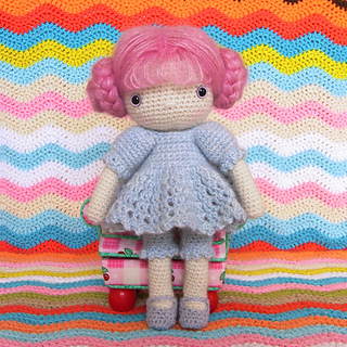 Ravelry Dress For My Crochet Doll Pattern By Biscuit Bear