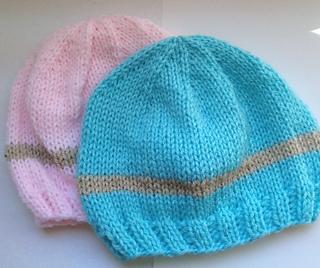 Ravelry  My Little Baby Newborn Hat (knit) pattern by Elizabeth Mareno e9425e65f52