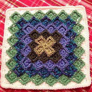 Ravelry Lush Garden Bavarian Stitch Afghan Pattern By