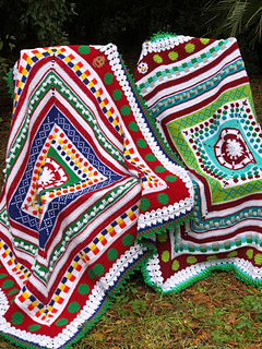 Christmas Sweater Pattern.Ugly Christmas Sweater Blanket Cal Pattern By Elizabeth Mareno