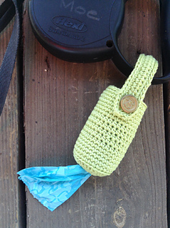Ravelry Simple Crocheted Poop Bag Holder Pattern By Mama Kat