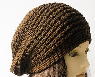 Ravelry  Knit Look Crochet Beanie pattern by Judy Stalus 22f70379691