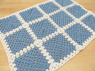 Ravelry Crochet Granny Square Baby Blanket Pattern By Black Sheep Wools