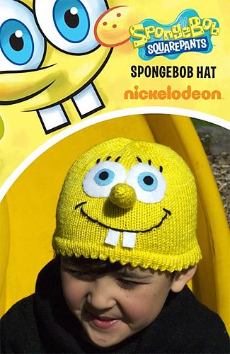 f992ecaa9a8b7 Ravelry  SpongeBob SquarePants Hat pattern by Belinda Too