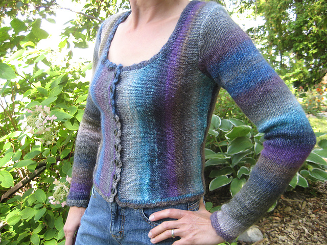 028dc2a267b5 Ravelry  Scoop Neck Cardigan pattern by Debbie Bliss