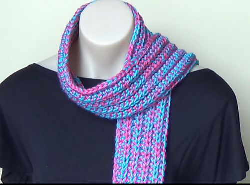 Ravelry Ribbed Scarf Crochet Tutorial Easy Pattern By Bobwilson123