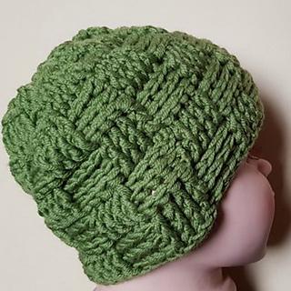 799aeccaa06 Ravelry  Basket weave hat pattern by bobwilson123