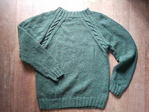 Ravelry Cable Raglan Sweater Pattern By Patons Australia