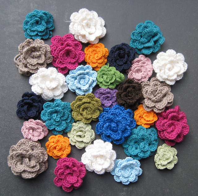Crochet Flower Pattern Pictures Flowers Healthy
