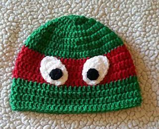 Ravelry  Ninja Turtle Hat pattern by Brooke Rabideau d12ada03ae8