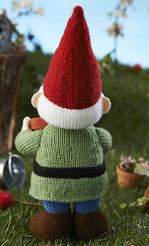 Gnome Hat Knitting Pattern Free : Ravelry: Green Fingers Gnome pattern by Alan Dart