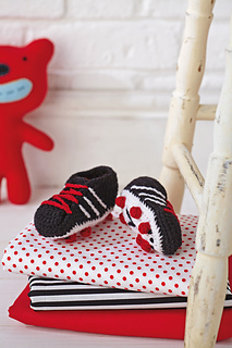 Ravelry: Football Boot Slippers pattern by Hannah Cross