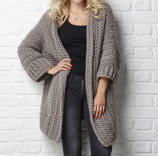 56b3dad4e Ravelry  The Big Chill Cardigan pattern by Simone Francis
