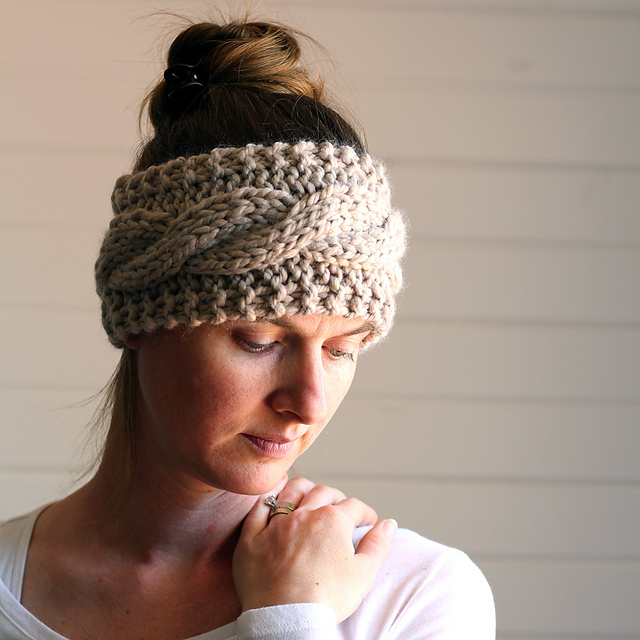 Ravelry Cable Knit Headband Pattern By Brome Fields