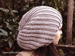 autentico stile romanzo più colori Ravelry: Flou - slouchy hat pattern by Ilaria Caliri (aka ...