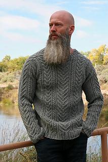 33ab374bd852 Ravelry  Yule Sweater pattern by Anne Podlesak