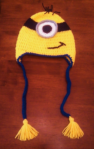 Ravelry: Minion Beanie pattern by Butterfly\'s Creations