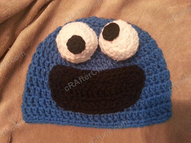 Ravelry Cookie Monster Hat Pattern By Niki Wyre