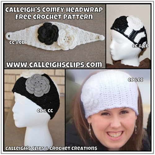 Ravelry: Calleigh\'s Comfy Headwrap pattern by Elisabeth Spivey