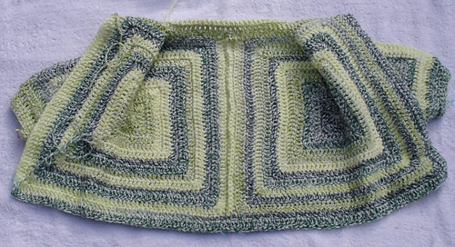 7d963093a1ac Ravelry  cannej s Hexagon Baby Sweater