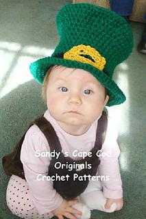 patterns   Sandy Powers Designs Ravelry Store.   358 Baby Leprechaun Hat b2ab8b7bc24