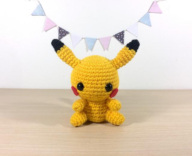 Ravelry: Pikachu Amigurumi pattern by Clare Heesh