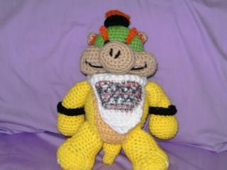 Ravelry bowser jr pattern by crochet universe dt1010fo