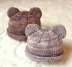 Itty Bitty Bear Cubs- Free Easy Baby Hat