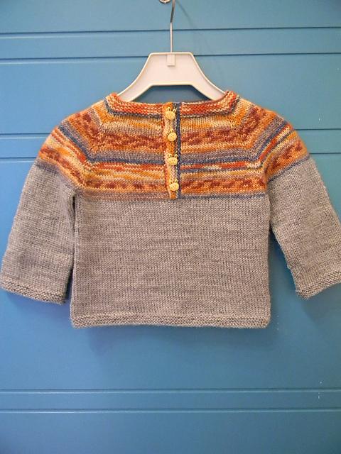 315bebdd1 Ravelry  Sweet Baby Sweater pattern by Caroline Wiens
