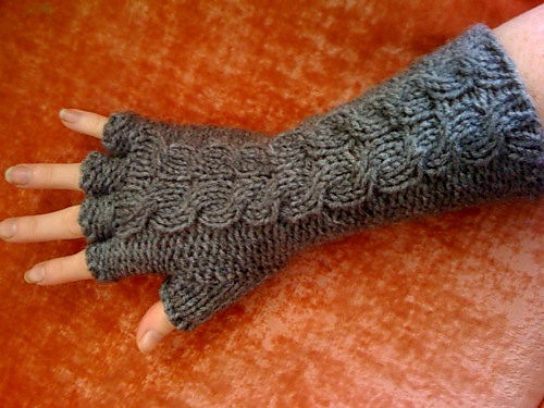 Ravelry Half Finger Gorey Gloves Pattern By Carrie Martin